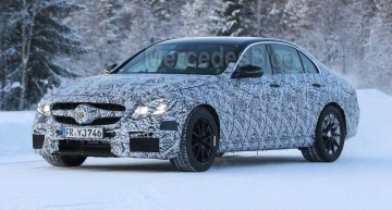 HOT 600 hp Mercedes-AMG E 63 shows its face
