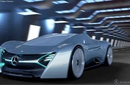 The Mercedes-Benz ELK electric supercar – Imagination knows no limitation