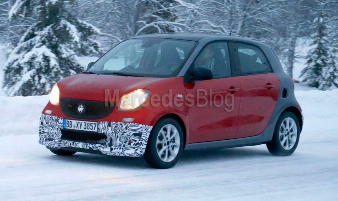 Brabus-tuned smart fortwo cabriolet and forfour on their way to China
