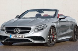 """S63 AMG Cabriolet """"Edition 130"""" honors the birthday of the automobile"""