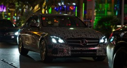 Mercedes-Benz is playing Hide-and-seek with the new E-Class