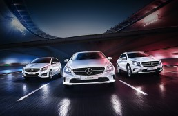 Stars meet stars in the Mercedes-Benz Euro 2016 campaign