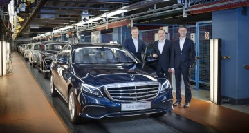 Start of series production for new Mercedes E-Class