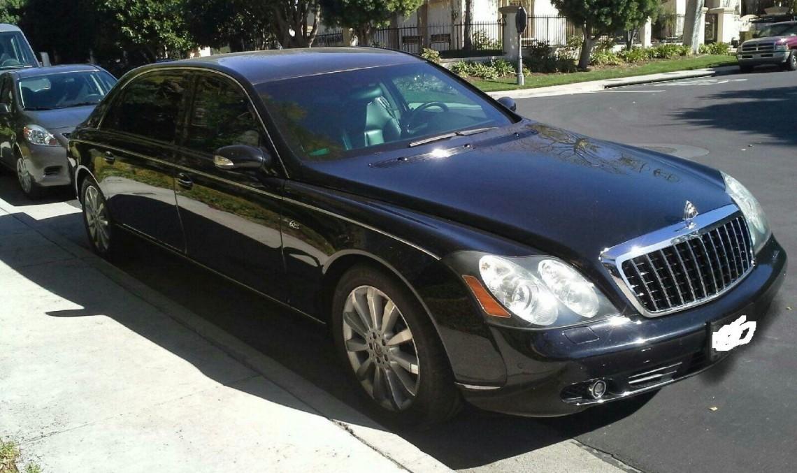 Charlie Sheen sells bulletproof Maybach on eBay - MercedesBlog