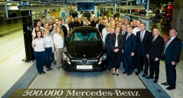 Happy 500,000 cars anniversary! The Mercedes-Benz Kecskemét plant is celebrating