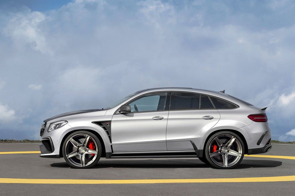 The Mercedes Benz Gle Coupe Inferno It Comes From Hell But It S