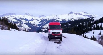 Another kind of supercar – The Mercedes-Benz Sprinter 4×4