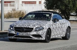 2017 Mercedes-AMG C 63 Cabriolet heading to New York