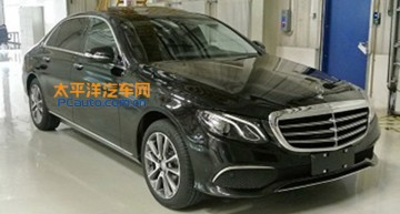 From China with love. Mercedes E-Class long-wheelbase revealed