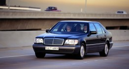 25 years Mercedes S-Class W140