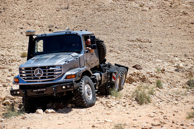 The king of all trucks: Mercedes Zetros 3643 AS 6×6