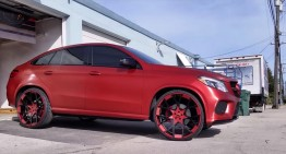 The next hip hop star – The Mercedes GLE 450 AMG Coupe by Tate Design