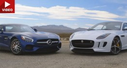 Mercedes-AMG GT S meets an unexpected contester. Can it loose?