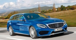 2017 Mercedes E-Class T-Modell spy video reveals design secrets