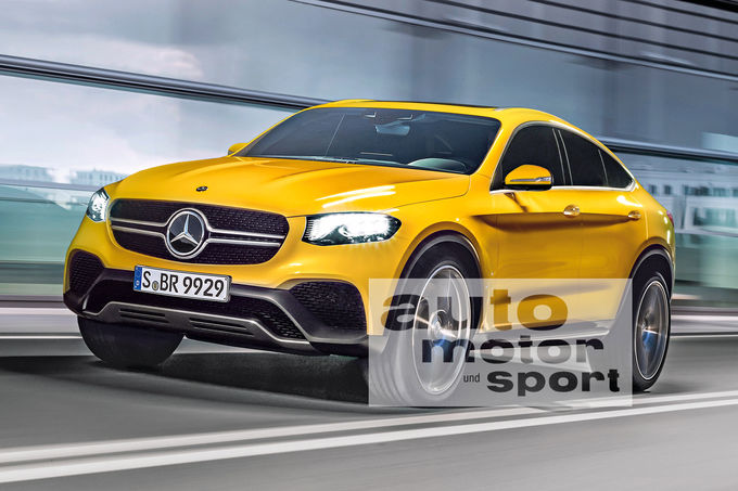 One last spy video hurrah for 2017 Mercedes GLC Coupe