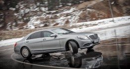 Armored hero. Mercedes-Maybach S 600 Guard in handling test