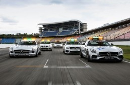 Formula 1 legends. Best Mercedes Safety Cars tested by Auto motor und sport