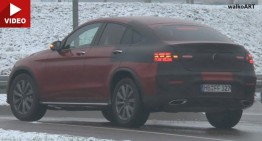 2017 Mercedes GLC Coupe video heightens the anticipation