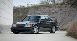 Mercedes-Benz 190 E 2.5-16 Evolution II performance sedan turns 30
