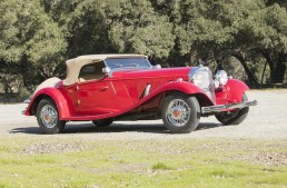 Mercedes auction by Bonhams on March 19 in Stuttgart