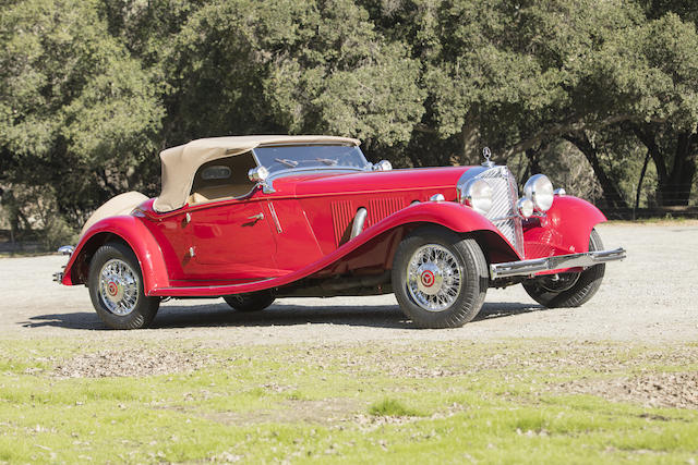 Mercedes auction by Bonhams on March 19 in Stuttgart