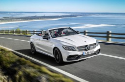 Full speed into summer in the new Mercedes-AMG C 63 Cabriolet