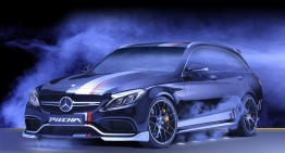 The Rottweiler – The Mercedes-AMG C63 S by Piecha Design
