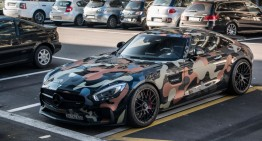Mercedes-AMG GT goes to war in military camouflage