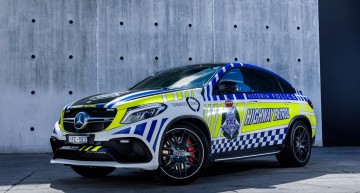 Fighting crime in style – Mercedes-AMG GLE 63 S Coupe is the latest police car