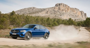 Will the top drop? Mercedes-Benz is considering a GLC Cabriolet