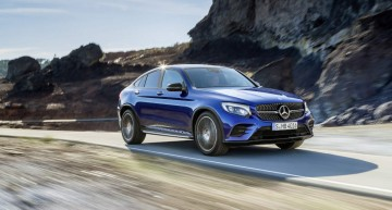 The production of the Mercedes-Benz GLC Coupé has started in Bremen