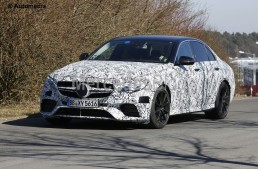 Hot 600 hp limo and wagon. Mercedes-AMG E 63 comes out from hiding