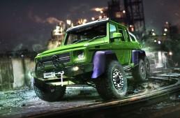 Hulk Mercedes G 63 6×6. Legendary green superhero found his ride