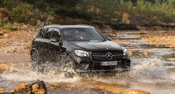 The hottest GLC. Mercedes-AMG GLC 43 boasts a 367 HP bi-turbo V6