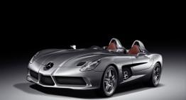 2009 Mercedes-Benz SLR McLaren 'Stirling Moss' sold for  €2,300,000 at Bonhams auction