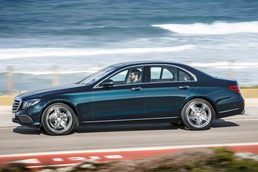 Ready for sale! The 2017 E-Class finally got the regulatory approvals in the U.S.