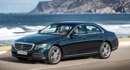 FIRST DRIVE TEST with the all-new Mercedes-Benz E-Class in E 220 d guise