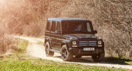 Die Hard with a Vengeance. We test the iconic G-wagon Mercedes-Benz G 350 d