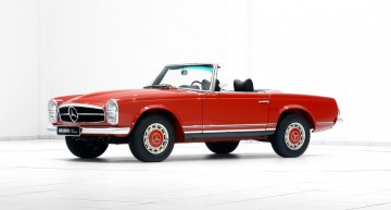Restored by Brabus – Mercedes-Benz classics live to see another day