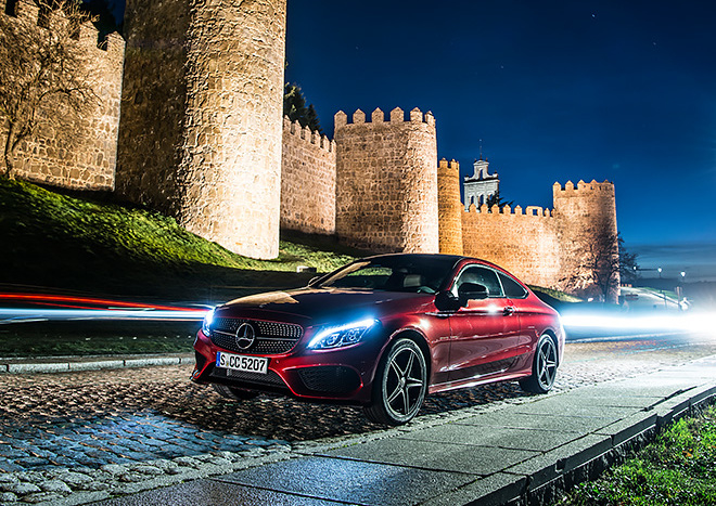 Joyride – 7 countries in 7 days with the Mercedes-Benz C-Class Coupé