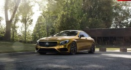 Not all that glitters is gold – The Mercedes-Benz S500 Coupe goes flashy