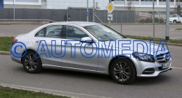 Mercedes C-Class facelift shows its face for the first time