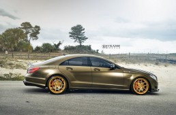 The Bronze Masterpiece – Mercedes CLS 63 AMG with Strasse wheels