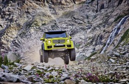 Good news, America! The Mercedes-Benz G500 4×4² might make it to the US