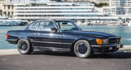 Rare Mercedes SL Roadster that belonged to Michael Schumacher is for sale