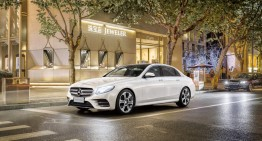 It's a long story – The world premiere of the long-wheelbase E-Class