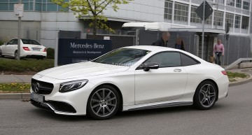 Mercedes starts testing the new sport platform MSA for the next SL and SLC