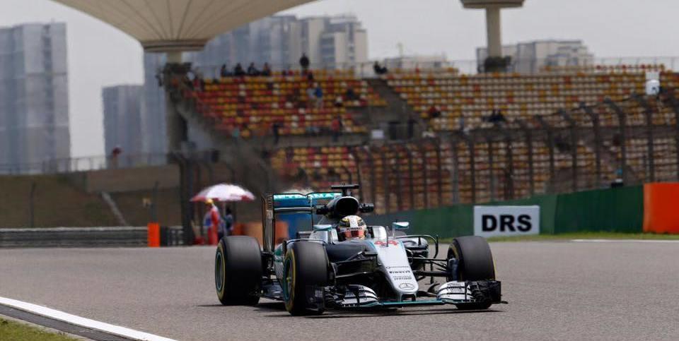 China GP – Mercedes driver Nico Rosberg strikes again!