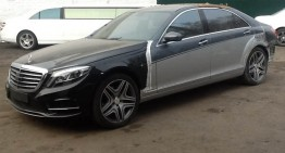 How to steal a million: Turning W221 S-Class to W222 S-Class