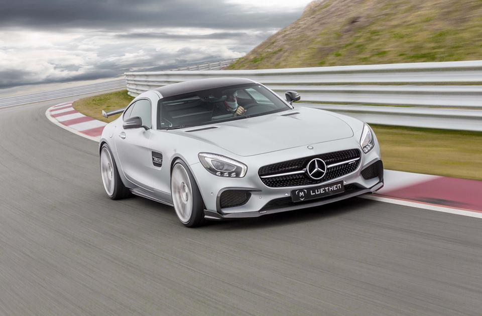 Thunderbolt – The Mercedes-AMG GT S by Luethen